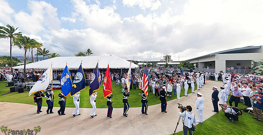 Pearl Harbor Attack 70th Anniversary Commemoration
