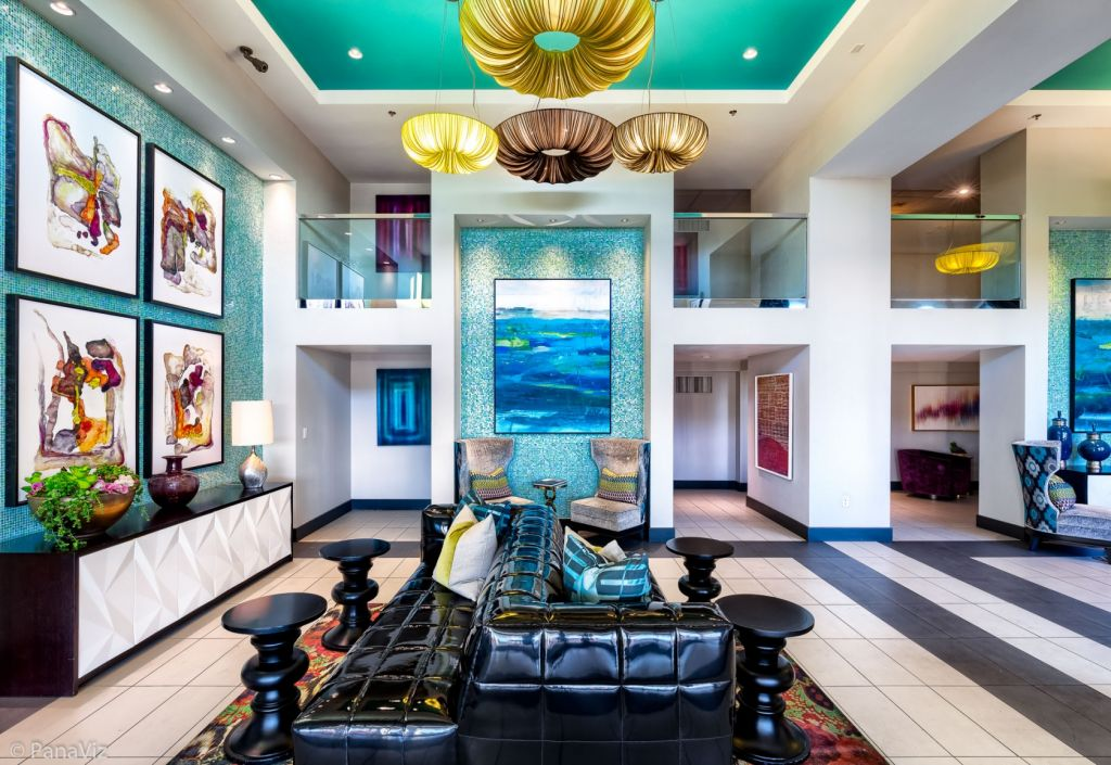 Las Vegas Apartment Lobby Photo