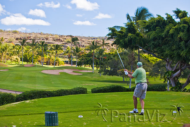 Golfing at Koolina