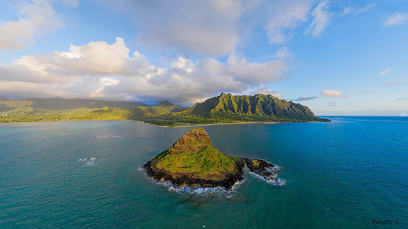 Chinaman's Hat 360 Panorama Licensing