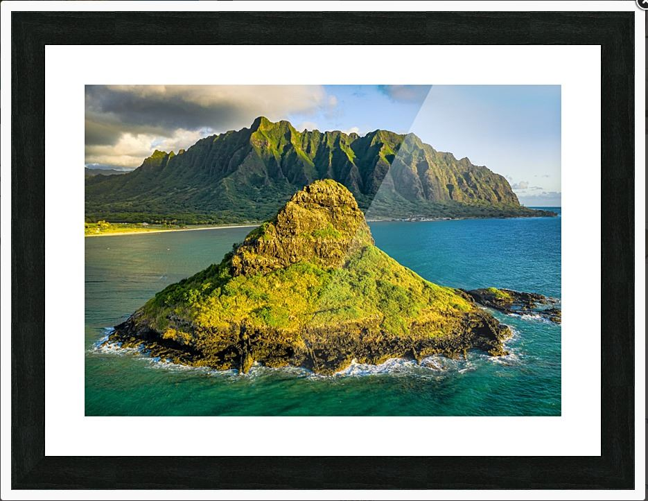 Chinaman's Hat Photo Print