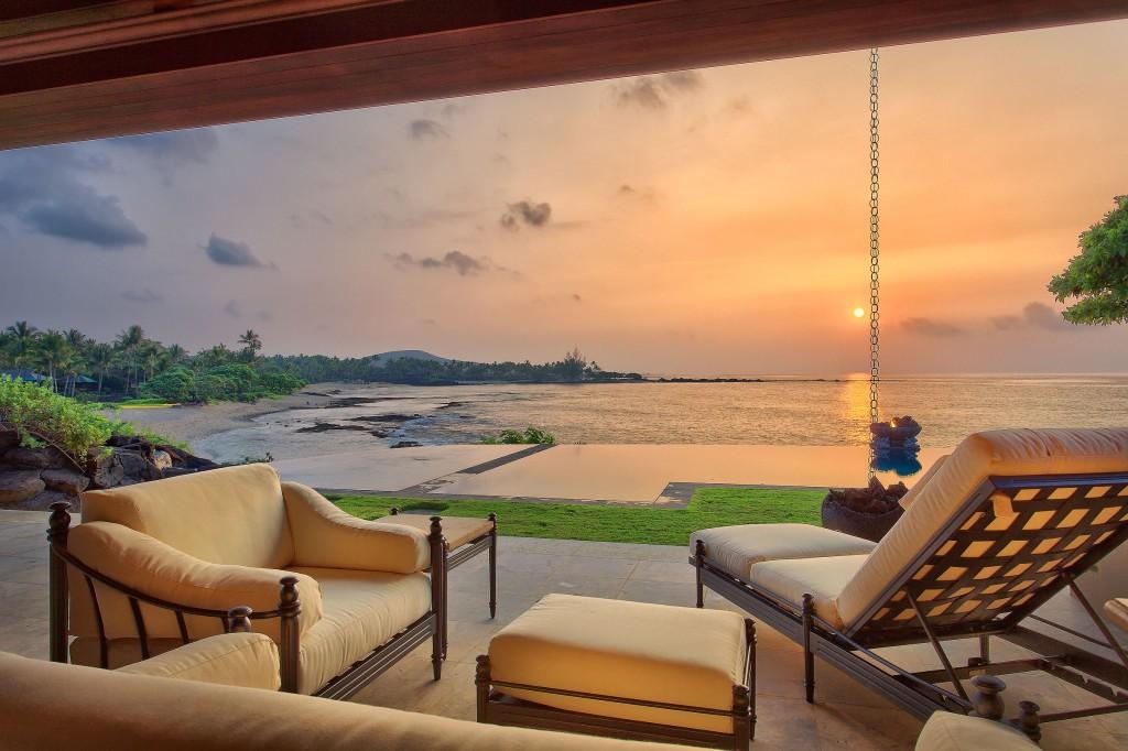 Resort Photography at Dusk