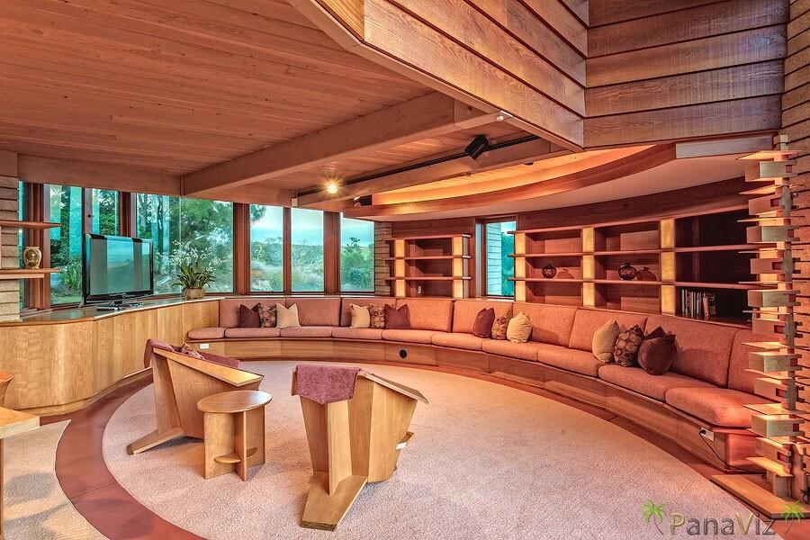 Frank Lloyd Wright Lava Rock Home