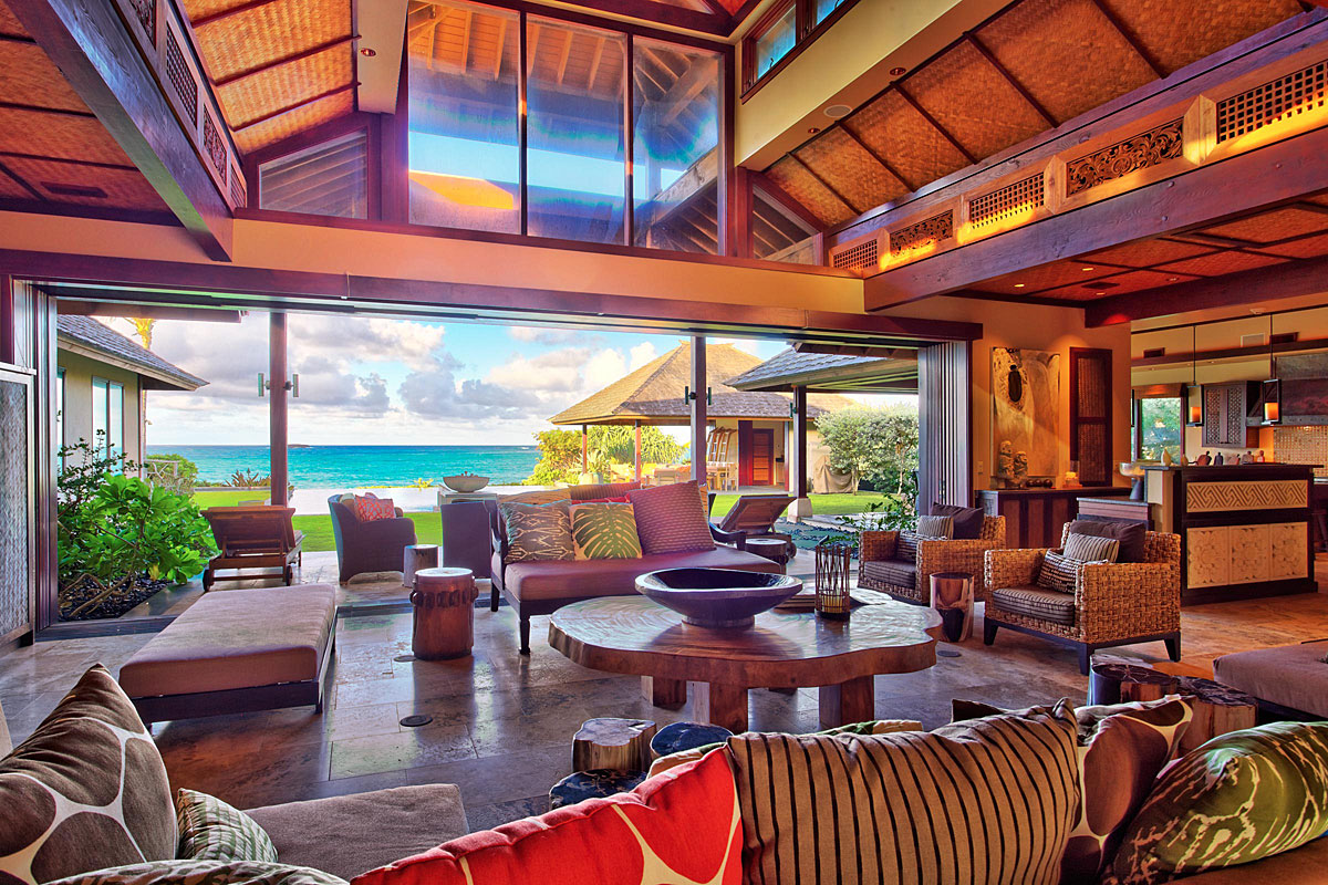 Architecturally correct photography of a large resort home