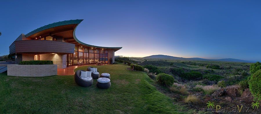 Frank Lloyd Wright Lava Rock Home, Hawaii