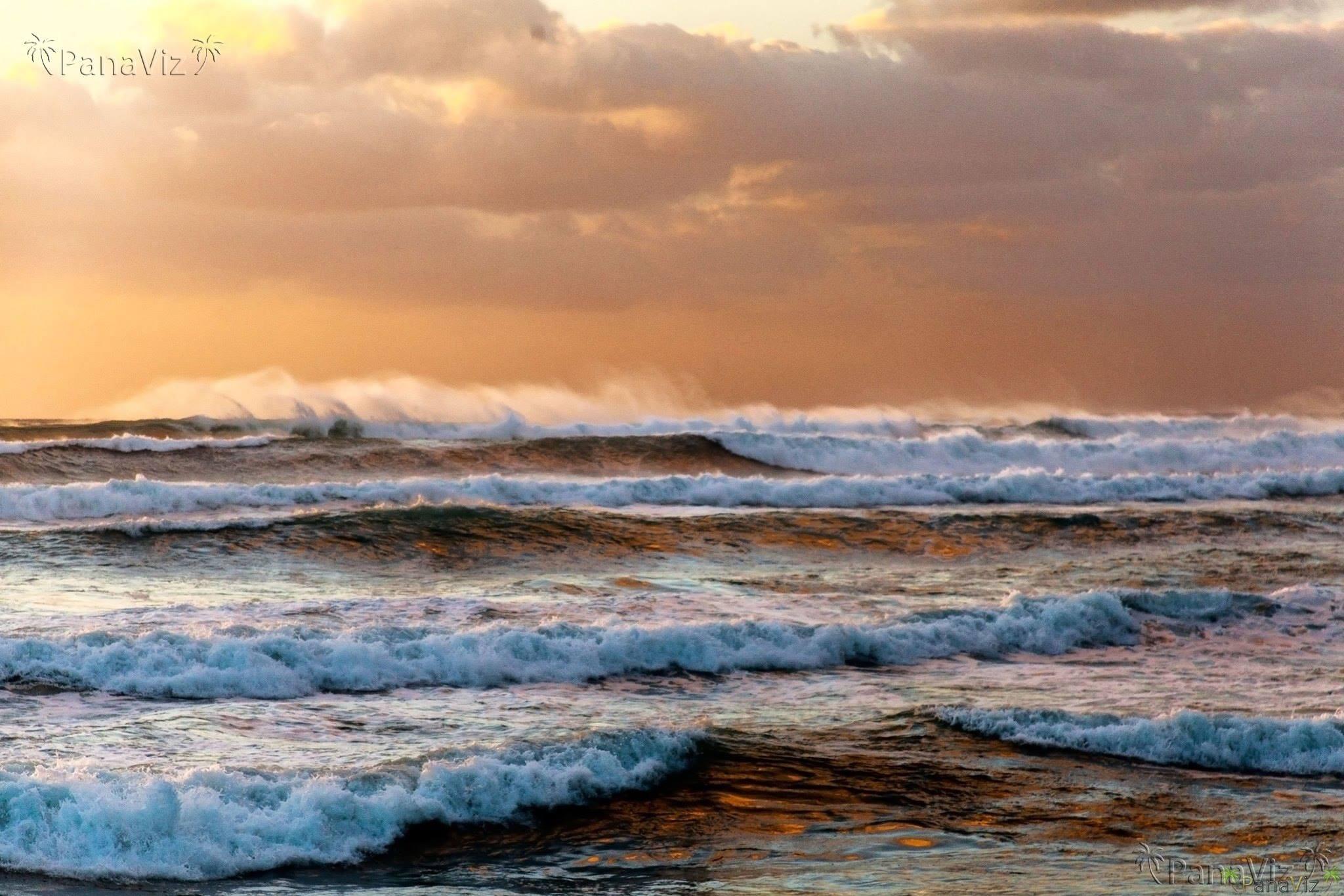 High Surf on Oahu