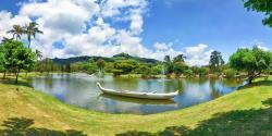 Garden Island of Kauai. At Smiths Tropical Paradise.