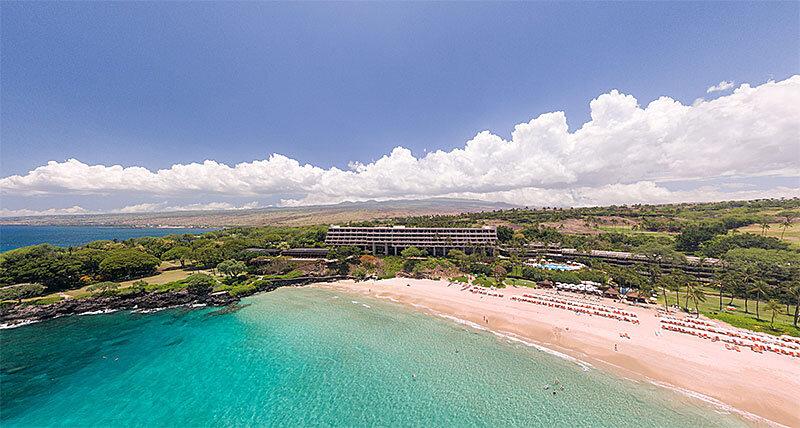 Aerial Panorama of Luxury Resort