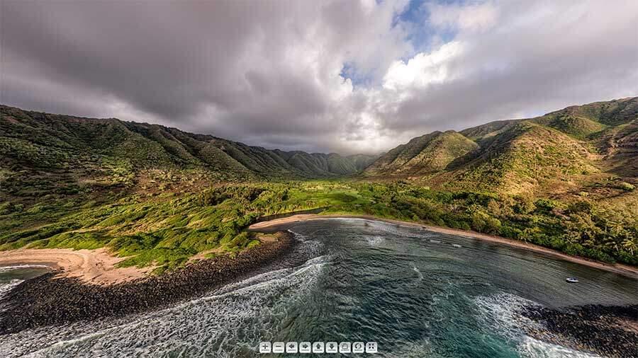 Halawa-Bay-Molokai-Panorama