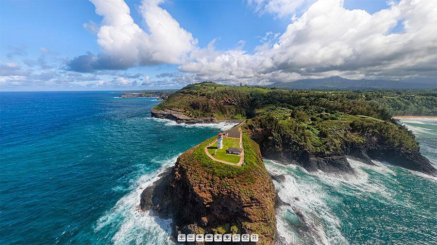 Kilauea-Lighthouse-Panorama