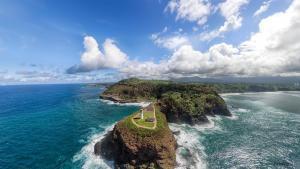 Kilauea Lighthouse Aerial Panorama