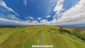 Kohala Road Aerial Panorama
