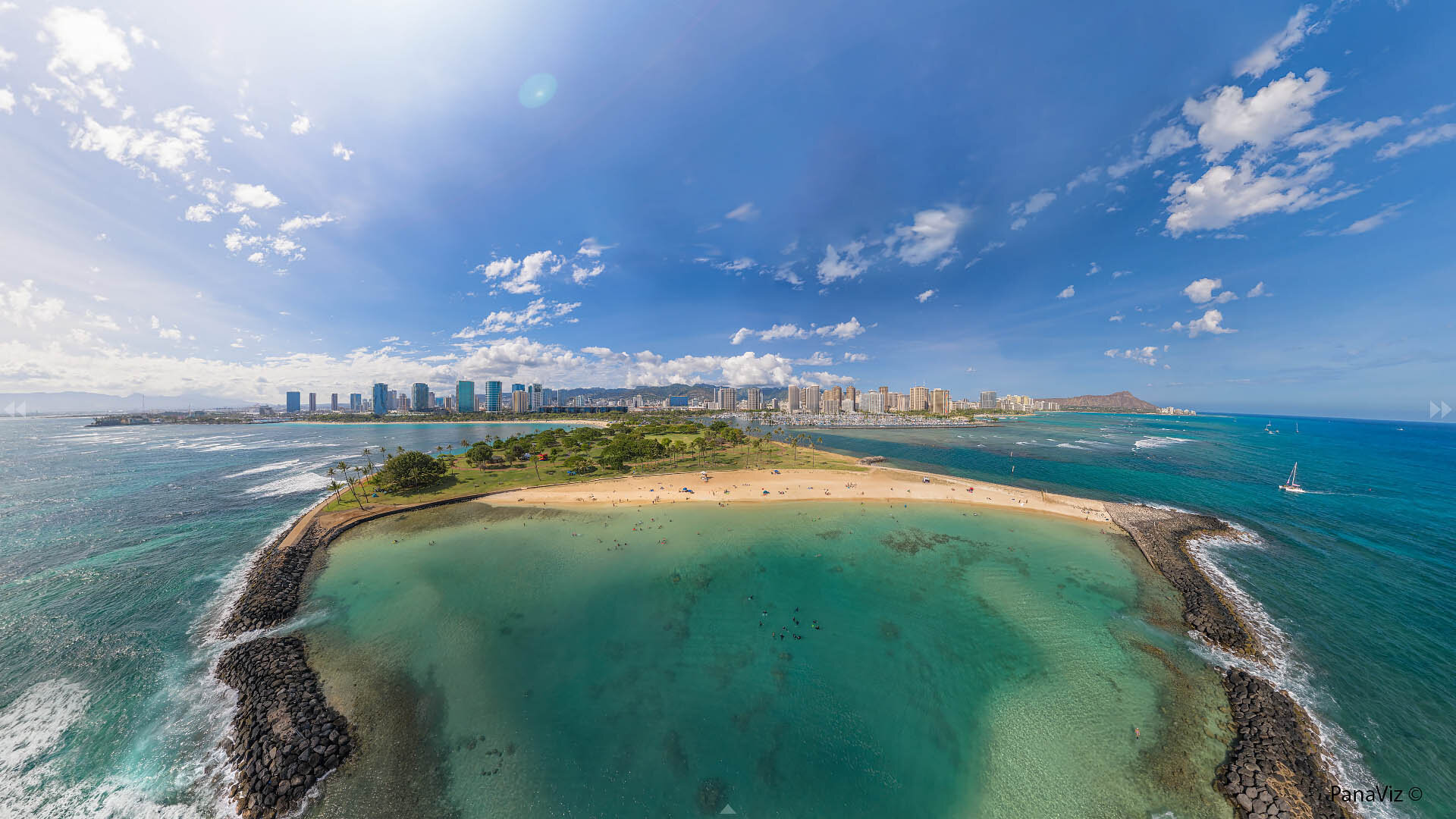 Magic Island 360 Panorama