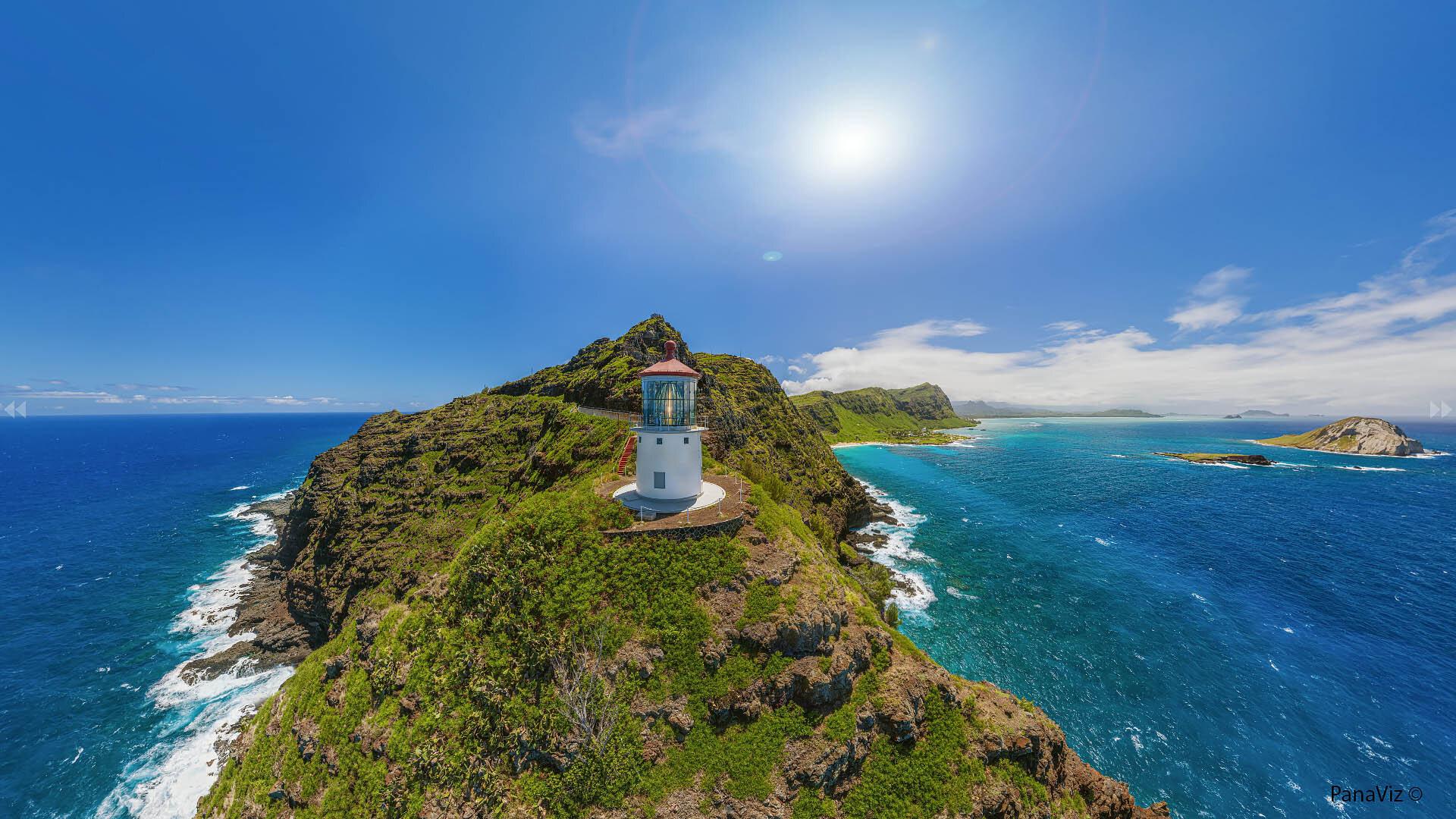 Makapu Lighthouse Panorama