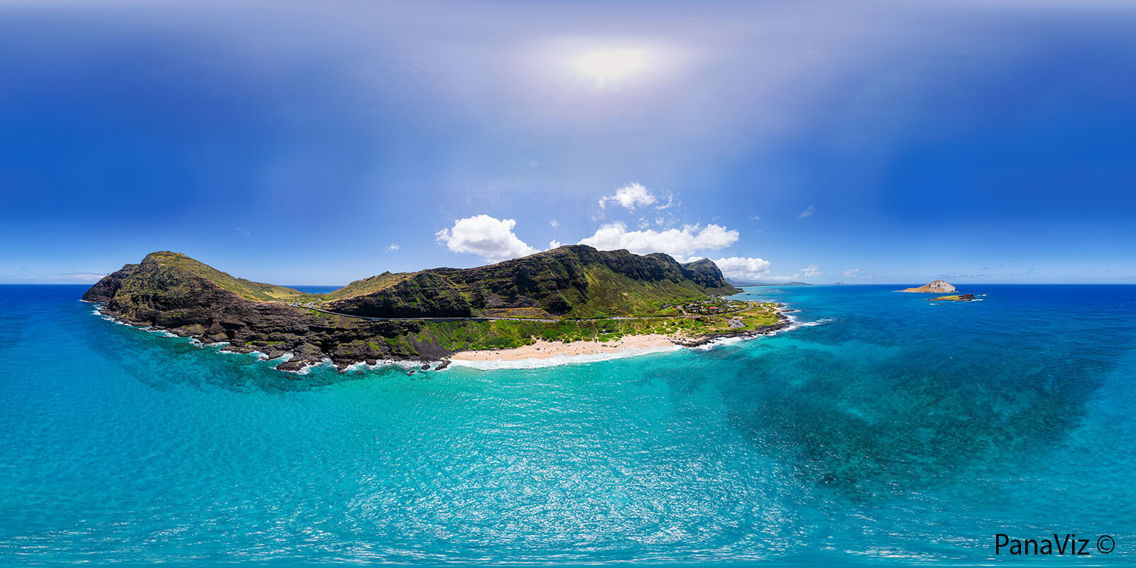 Makapuu Beach Panorama