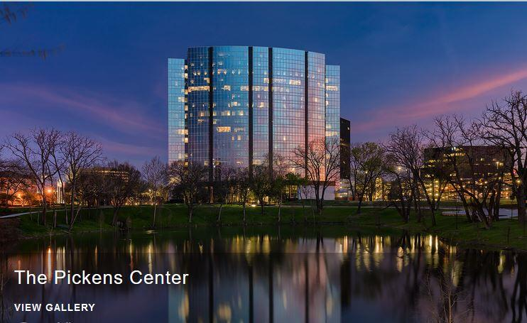 Architectural Photography of Pickens Center, Dallas Texas