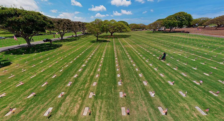 Punchbowl-Cemetery