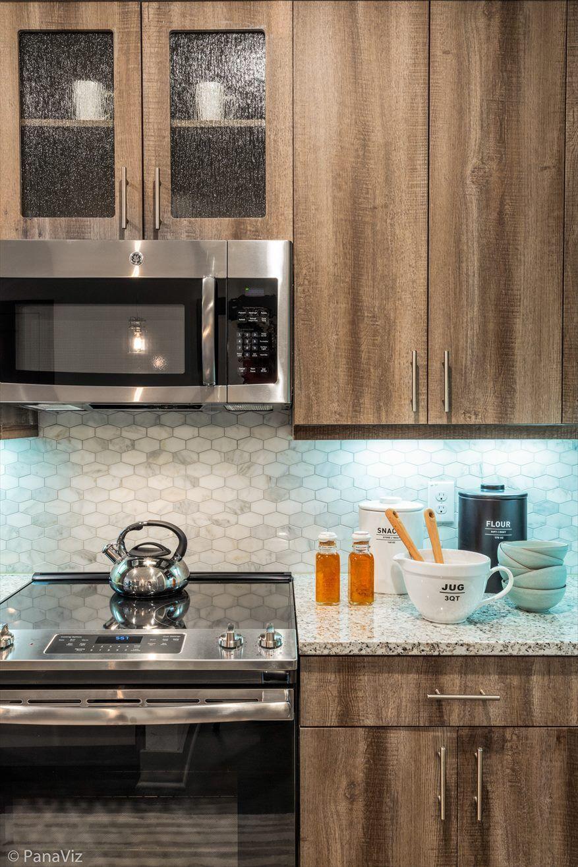 Multi Family Apartment Model Kitchen