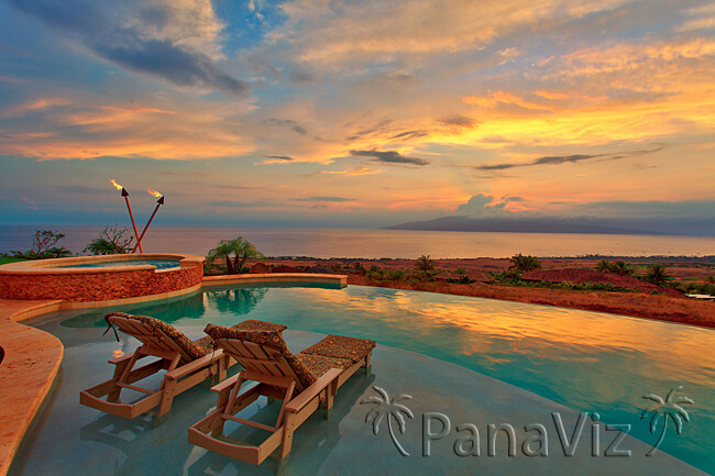 exterior lodging photography, pool