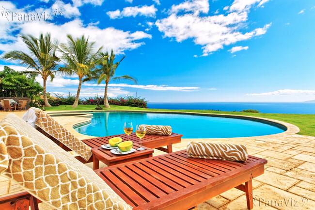 resort pool photography