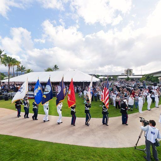 Pearl Harbor 70th Anniversary Commemoration