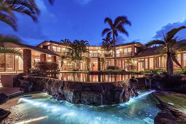 luxury pool photography by panaviz