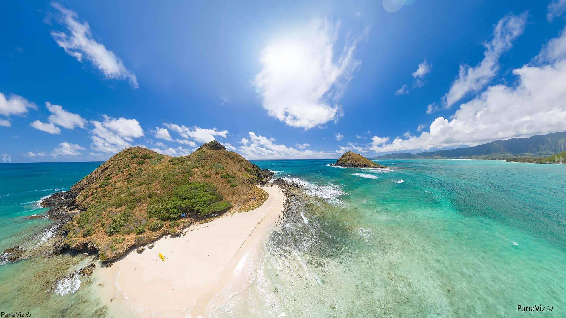 Moko Nui Aerial Panorama by PanaViz