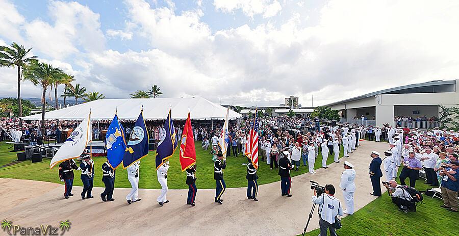 Pearl Harbor Attack 70th Anniversary Commemoration
