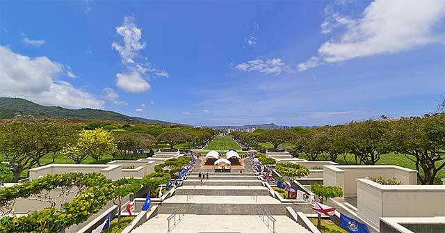 National Memorial Cemetary of the Pacific –