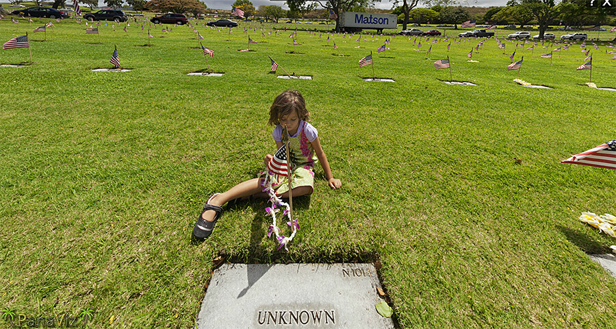 Punchbowl Cemetery's Unknown Soldier Grave