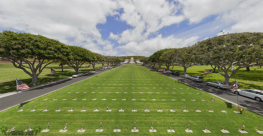 Punchbowl Cemetery, National MemorialCemetery of the Pacific