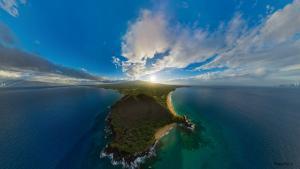 Puu Olai Maui Aerial Panorama