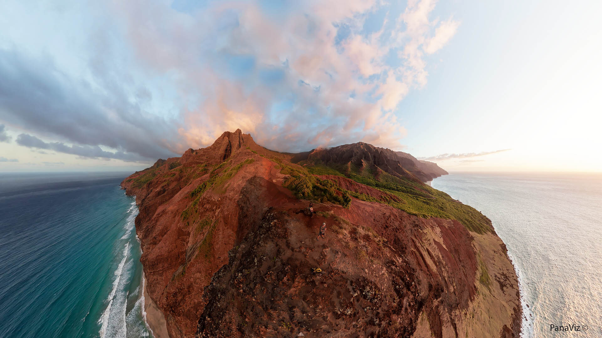 Aerial Panoramic Photography -Red Hill